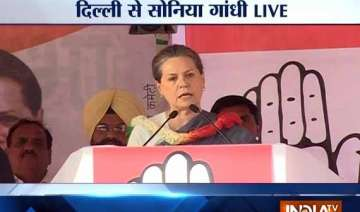 live sonia accuses kejriwal of running away from...