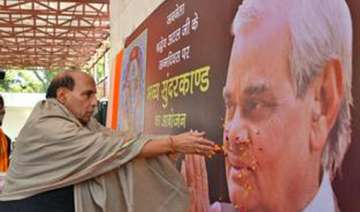 lucknow poll will be fought on vajpayee s legacy...