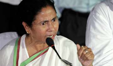 mamata charges cpi m cong bjp with conspiracy to...