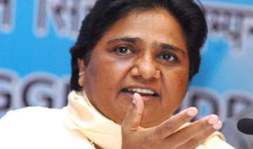 mayawati to bsp mps don t join opposition protest...