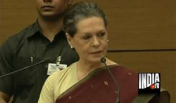 media s watchdog role welcome sonia - India TV