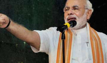 modi invokes gandhi for nation s development -...