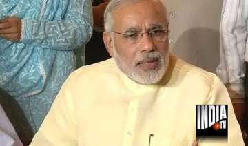 modi refuses to take questions on bjp s pm...