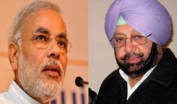 modi takes swipe at amarinder singh - India TV