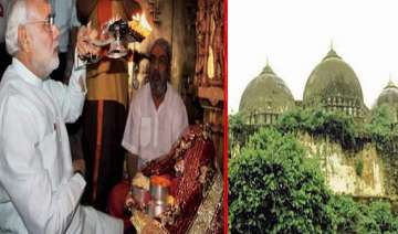 modi to offer prayer at ram janmabhoomi site in...