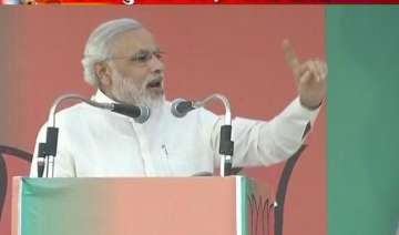 live narendra modi s udaipur rally - India TV