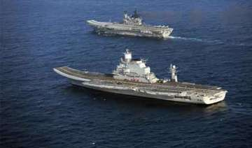 narendra modi to sail on aircraft carrier...