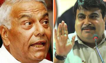 nitin gadkari must quit yashwant sinha - India TV