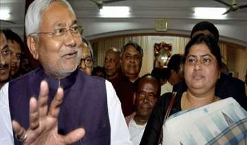nitish kumar inducts gangster s widow lacy singh...
