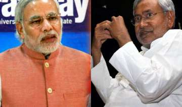 nitish dismisses modi wave as one created by...