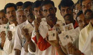 notification issued for polls in six ls seats in...
