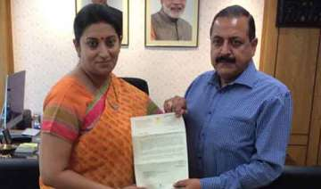 open iit in jammu jitendra singh to irani - India...