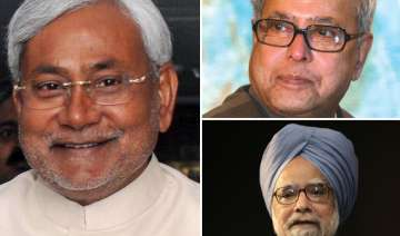 pm pranab dial nitish for support - India TV