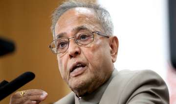pranab accuses bjp of changing stand on lokpal...
