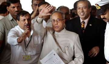 pranab seeks floating votes for his candidature -...