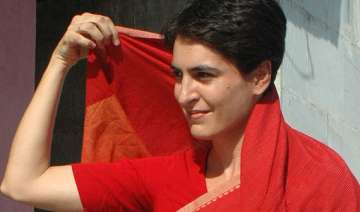 priyanka holds brainstorming session with cong...