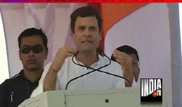 rahul gandhi my mom wept as she couldn t vote for...
