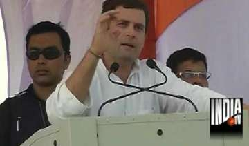 rahul tells mp voters bjp is a party of...