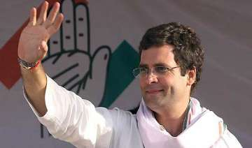 rahul says congress fighting up polls in real...