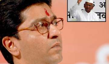 raj thackeray takes swipe at hazare - India TV