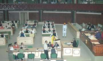 rajasthan assembly pays tribute to departed...