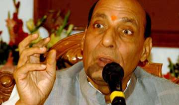 rajnath singh terror and talks cannot go together...