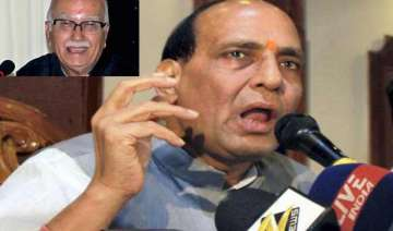 rajnath rejects resignation senior leaders flock...
