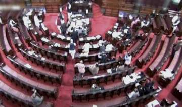 rajya sabha stalled over naming mps - India TV