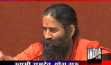ramdev congress is conspiring against me - India...