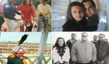 rare pictures of rajiv sonia gandhi and family -...