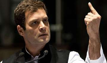 read rahul gandhi s comments about polls tv...