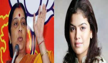 read list of 75 bjp candidates sushma swaraj from...