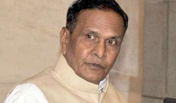 sp and cong activists clash at programme presided...