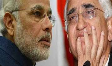 salman khurshid compares modi to a nursery child...