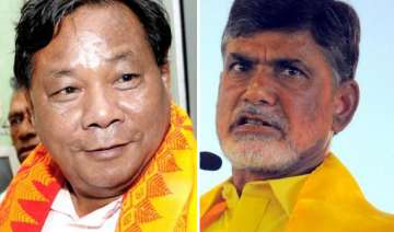 sangma seeks chandrababu s support for...