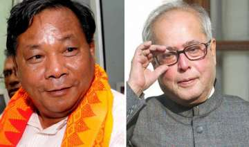 sangma targets pranab for economic slowdown -...