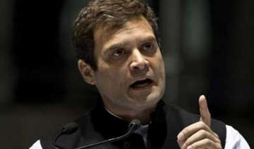 shun the groupism rahul gandhi to haryana...
