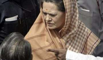 sonia gandhi on one day visit to up - India TV