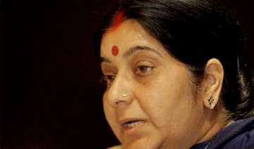 sushma swaraj demands help for athlete s family -...