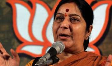 sushma favours special session to pass food bill...