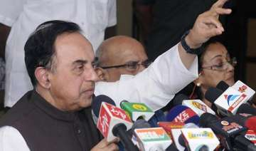 swamy says he has taken in principle decision to...