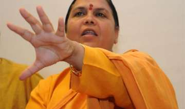 uma bharti denies she ever sought ticket from...