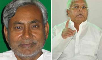 who is the secular leader in nda lalu asks nitish...