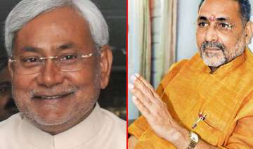 why nitish did not resign in 2002 asks bjp leader...