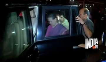 why was ambulance not provided to sonia gandhi in...