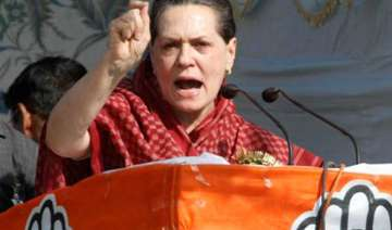 wikileaks has exposed bjp sonia tells assam rally...