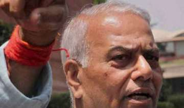 yashwant sinha refuses party s request to apply...