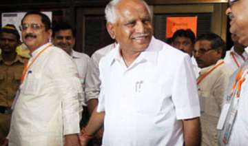 yeddyurappa resigns from bjp and assembly new...