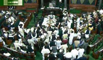 30 35 pc of parliament s time lost due to...