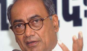 digvijaya singh accuses bjp of double standards -...